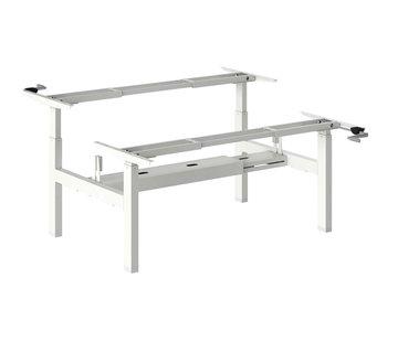 Ergonice Office Ergonomics Ergo-Duo-Move 115 Los Frame (zit-sta model)