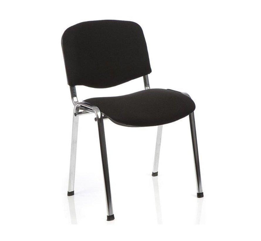 ISO Vergaderstoel / Kantinestoel Bekleed Met Stof