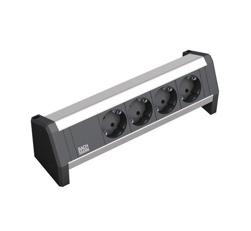 Bachmann Bachmann Desk 1 Opbouw Stopcontact Met 4x 230V Stroom Aansluiting