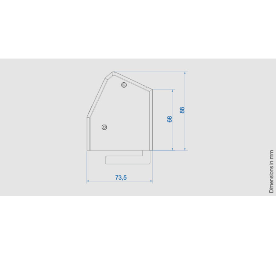 Bachmann Desk 1 Opbouw Stopcontact Met 4x 230V Stroom Aansluiting