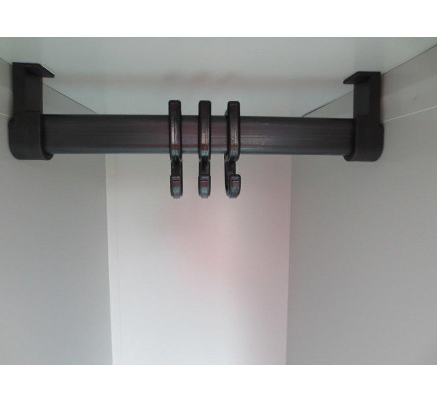 4-Deurs Lockerkast Met Ventilatiegleuven In De Deuren