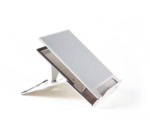 Bakker Elkhuizen Ergo-Q 260 Aluminium Laptopstandaard Met Documenthouder