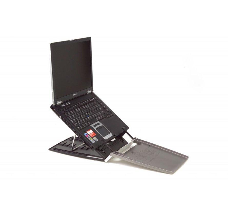 Ergo-Q 330 Kunststof Laptopstandaard Met Documenthouder