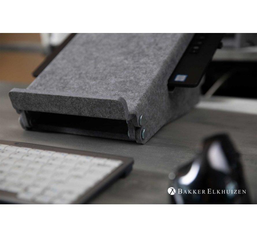 Ergo-Top 320 Circulaire Laptopverhoger Gemaakt Van Hergebruikte PET Flessen