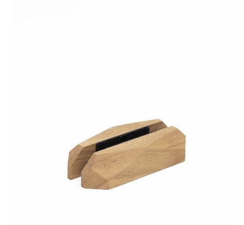 Oakywood Verticale laptopstandaard van eiken- of walnoothout