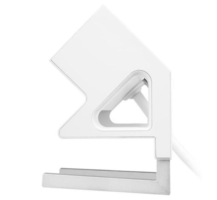 Filex Power Desk Up 2.0 Voorzien Van 2x230v Aansluiting, 1x USB-A & 1x USB-C Charger