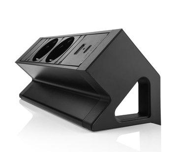 Filex Workspace Solutions Power Desk Up 2.0 2x230v, 1x USB-A & 1x USB-C