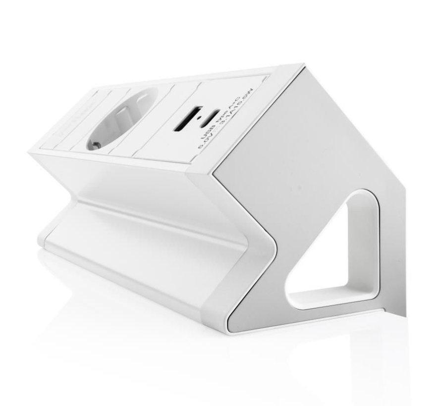 Filex Power Desk Up 2.0 Voorzien Van 1x230v & 1x USB A+C Charger