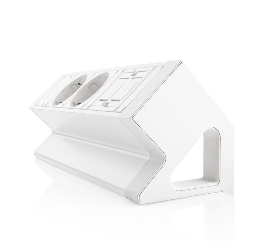 Filex Power Desk Up 2.0 Voorzien Van 2x230v En 2 Lege Moduleplaatsen