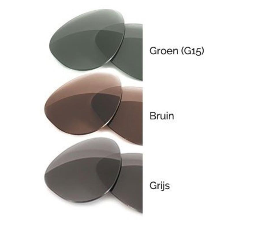 Uw bril of zonnebril op sterkte (enkelvoudig)