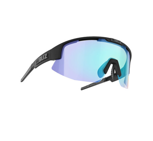 Bliz fietsbrillen  Bliz Matrix Small Nordic Light - lens blauw multi - 52007-13N