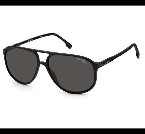 Carrera zonnebrillen Carrera 257/S herenzonnebril van Carrera in de kleur matzwart en voorzien van polariserende glazen