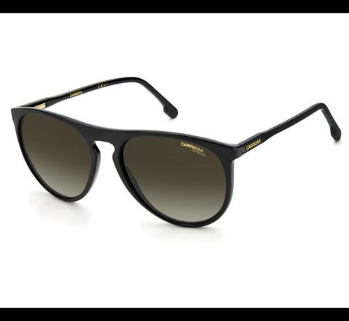 Carrera zonnebrillen Carrera 258/S herenzonnebril van Carrera in de kleur zwart
