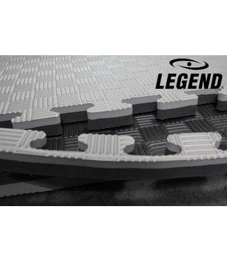 Legend Sports Legend Puzzelmat sport 4CM Zwart/Grijs