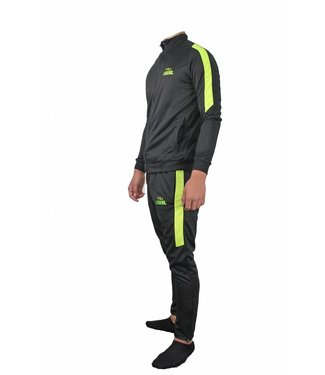 Trendy Legend DRY-FIT Trainingspak Zwart/Neon Geel