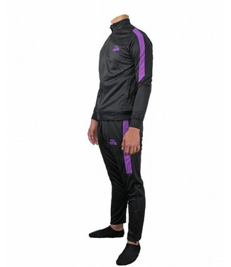 Trendy Legend DRY-FIT Trainingspak Zwart/Paars