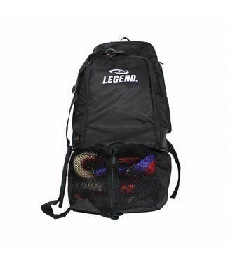 Legend Sports Sporttas Legend aanpasbaar backpack tas 2 in 1 zwart