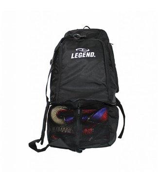Legend Sporttas aanpasbaar backpack tas 2 in 1 zwart
