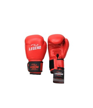 Legend Sports 4-8 jaar Bokshandschoenen kind Rood