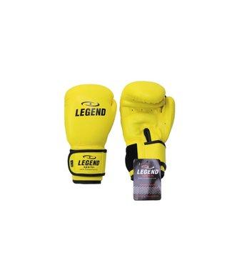 Legend kinder Bokshandschoenen Neon geel