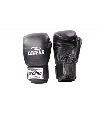 Legend Sports Leren Bokshandschoenen Legend Thai series Zwart