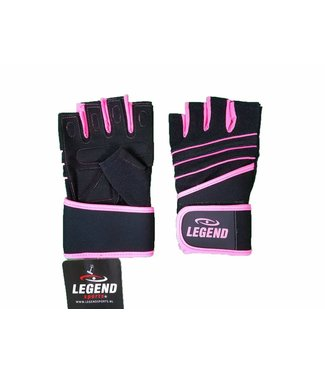 Legend Sports Fitness Handschoenen dames Legend Grip Roze