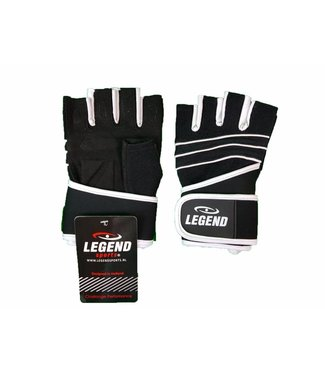 Legend Sports Fitness Handschoenen Legend Grip Zwart