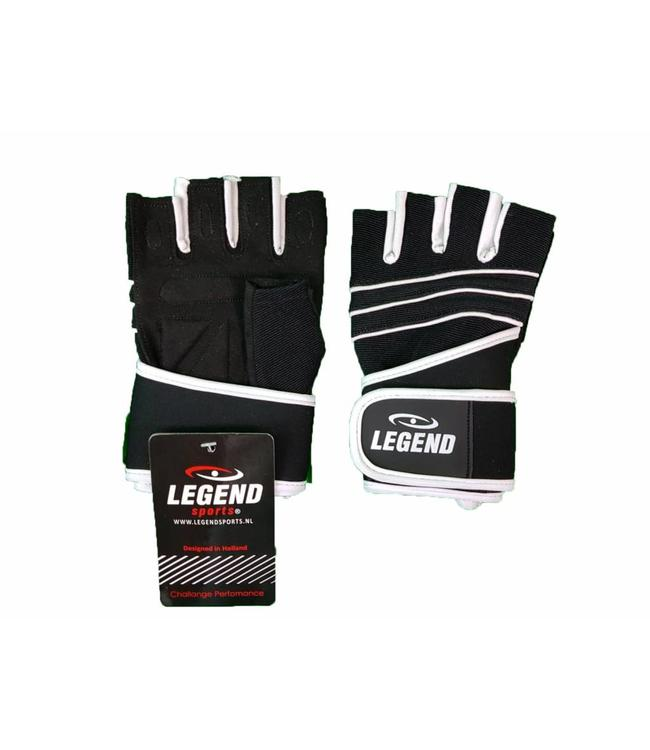 Fitness Handschoenen Legend Grip Zwart