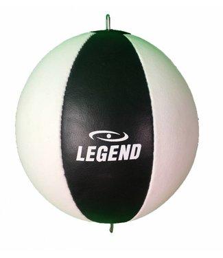 Legend Sports Double end Ball Legend Lederen Wit/Zwart