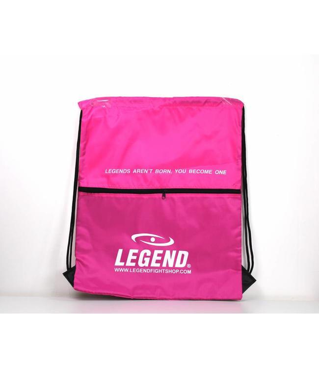 Legend Sports Handige dames sporttas met vakje Roze