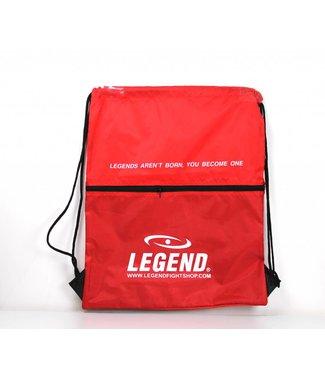 Handige sporttas met vakje Rood