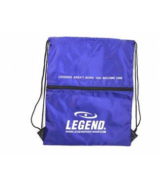 Legend Sports Handige sporttas met vakje Blauw