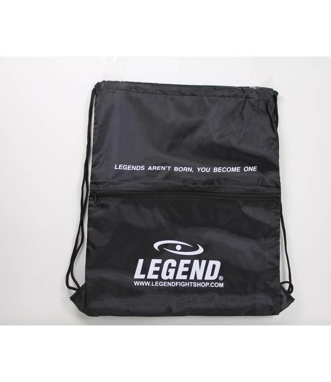 Legend Sports Handige sporttas met vakje zwart