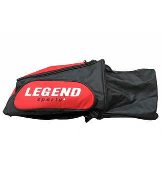Legend Sports Sporttas Legend aanpasbaar backpack tas 2 in 1 rood