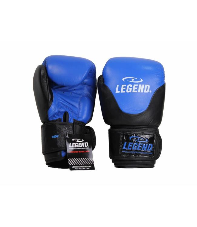 Legend Sports Leren Bokshandschoenen Legend Thai series Blauw