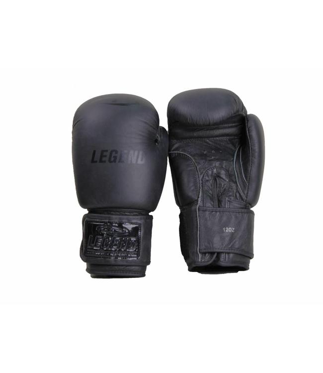 Legend Sports bokshandschoenen kind 6oz Mat Zwart