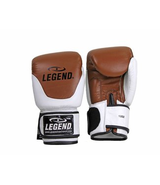 Legend Sports Leren Bokshandschoenen Legend Thai series Bruin