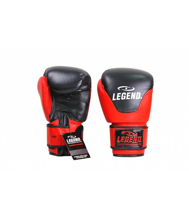 Legend Sports Leren Bokshandschoenen Legend Thai series Rood