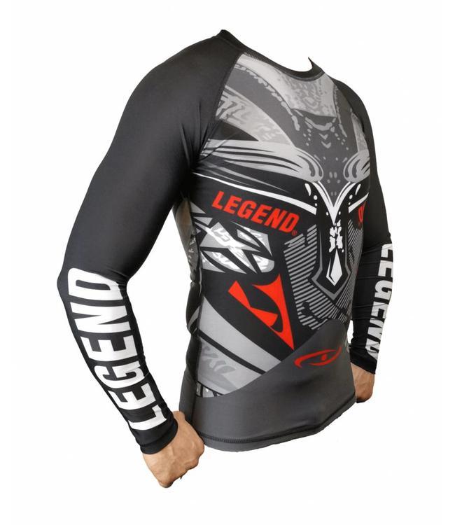 Legend Sports Sportshirt Legend DryFit Spartan lange mouwen Sublimation