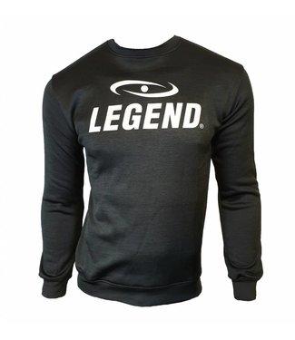 Trendy trui/sweater van de hoogste kwalitiet zwart