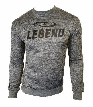 Trendy trui/sweater van de hoogste kwalitiet grijs