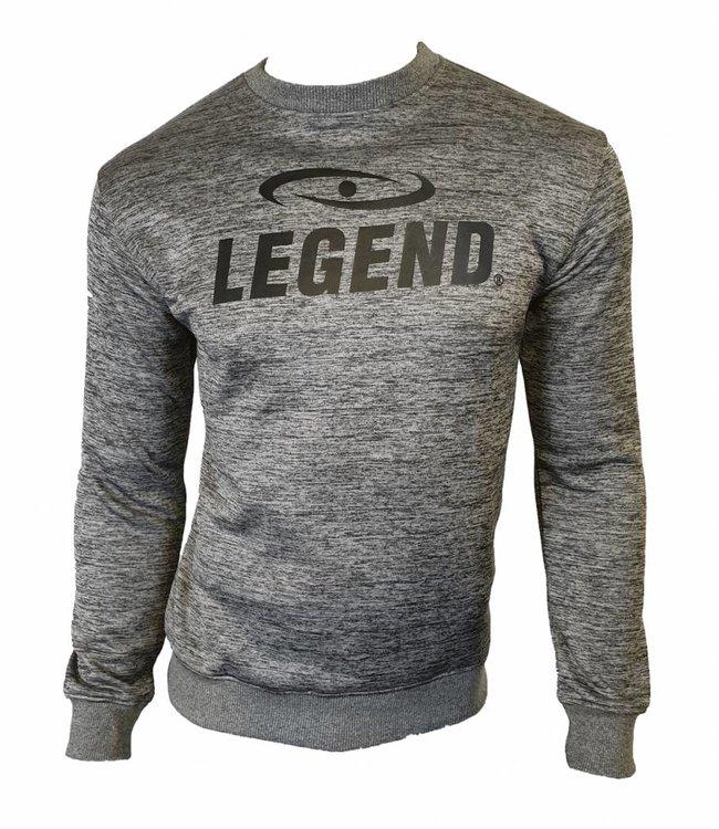 Legend Sports Trui/sweater dames/heren SlimFit Design Legend  Grijs