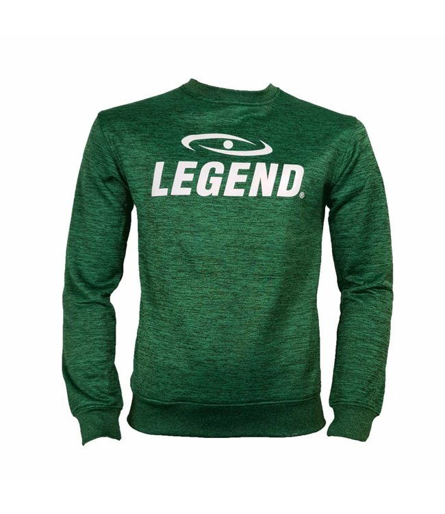 Legend Sports Trui/sweater dames/heren SlimFit Design Legend  Groen