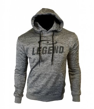 Legend Sports Hoodie dames/heren trendy Legend design Grijs
