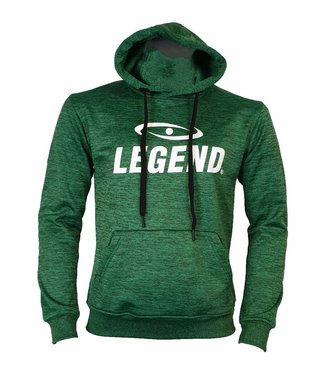 Legend Sports Hoodie dames/heren trendy Legend design Groen