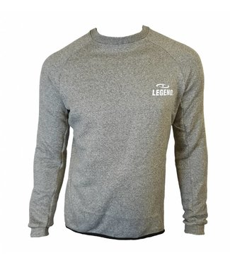 Legend Sports Trui Lang model fleece grijs