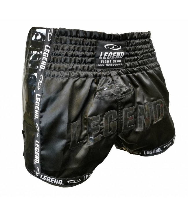 Legend Sports Kickboks broekje glamour black Legend Trendy