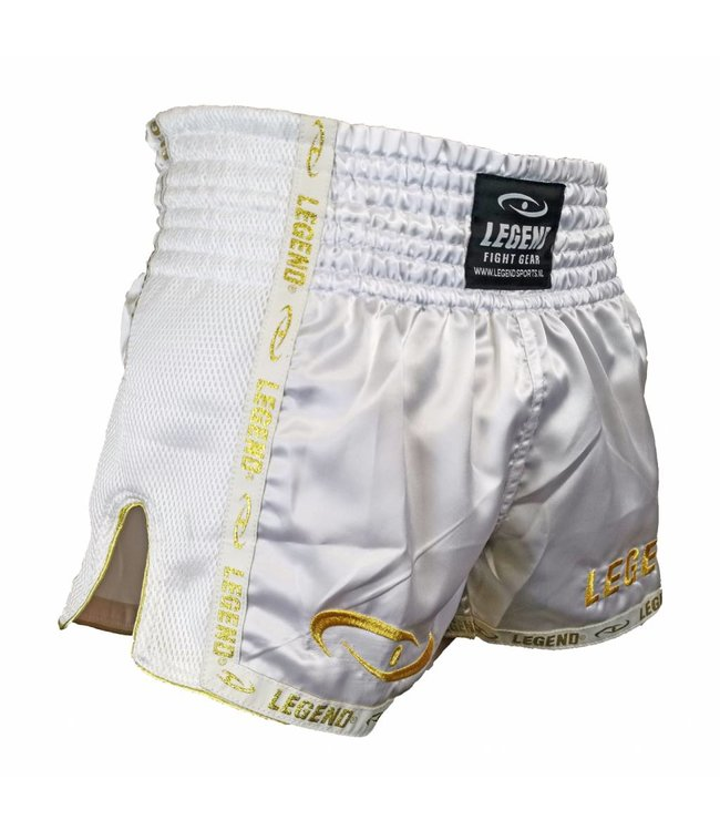 Legend Sports Kickboks broekje gold/white Legend Trendy