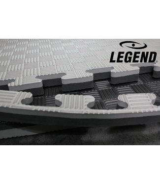 Legend Sports Puzzelmat | Grijs / Zwart | 100 x 100 x 3 cm