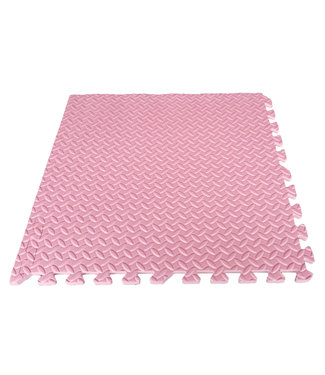 Legend Sports Puzzelmat babygym/speelkleed 1,2CM Roze